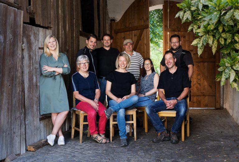 Das Team des Vorspannhof Mayr